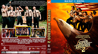 Super Troopers 2 - Super Maderos 2 - Cover BluRay